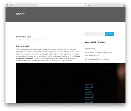 Caveat WordPress theme download - kocov.cz