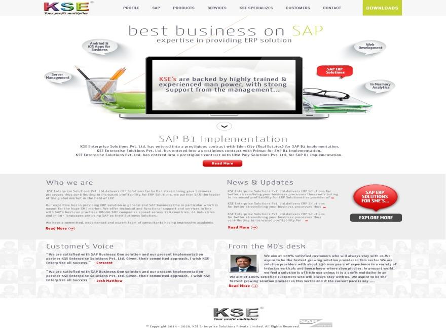 KSE WordPress magazine theme