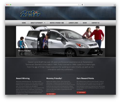 Radial Premium Theme best WordPress theme - krafty.ca
