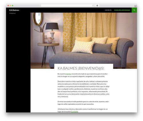 Sequel template WordPress - kabalmes.com
