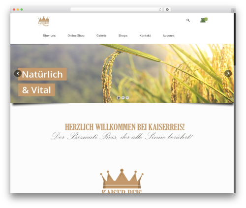 Theme WordPress Betheme - kaiserreis.at