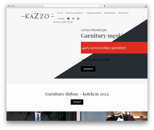 Theme WordPress Child Theme for Divi - kazzo-garnitury.pl