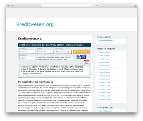WordPress template PaperCuts - kreditwesen.org