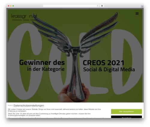 Free WordPress Snazzy Maps plugin - krassgruen.at