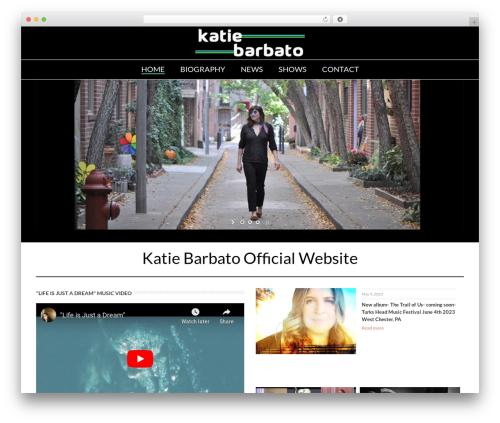 WordPress theme Jupiter - katiebarbato.com