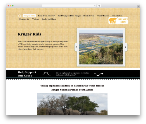 Free WordPress TablePress plugin - krugerkids.org