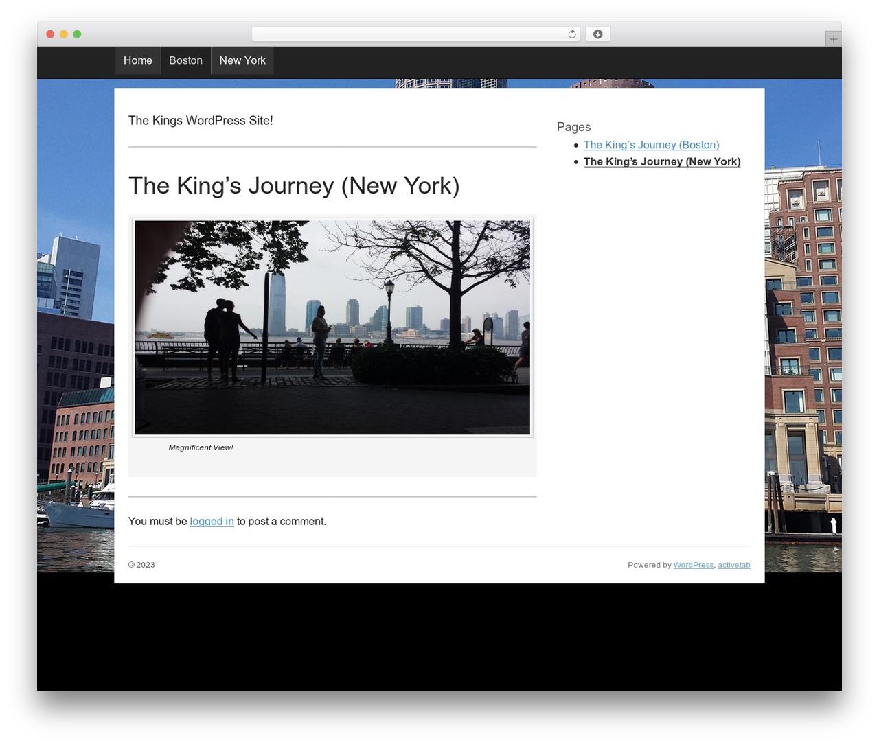 activetab WP template - kingsjournal.com
