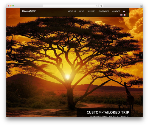 Black Label WordPress theme - kawango.fr