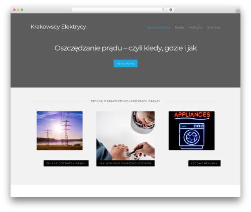 Caveat theme WordPress free - krakowelektryk.pl