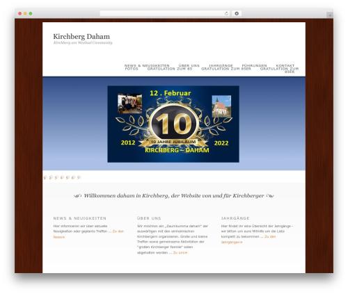 Dandelion WP template - kirchberg-daham.at