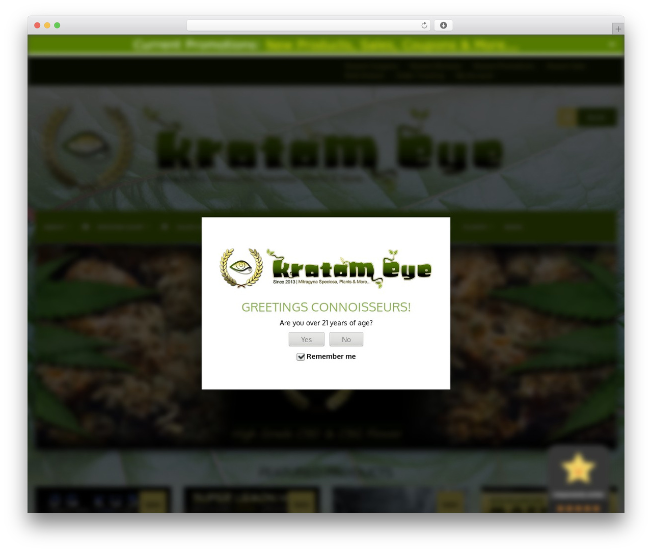 FlatMarket WordPress shop theme - kratomeye.com
