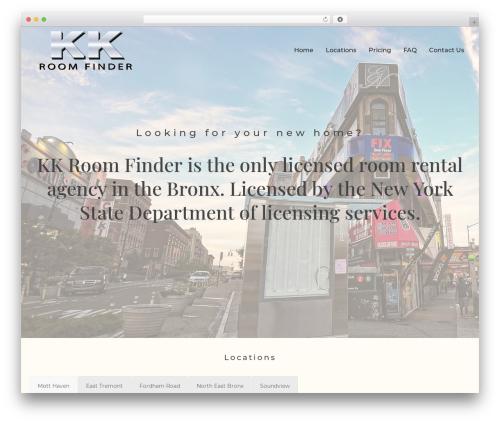 Jupiter WP theme - kkroomfinder.com