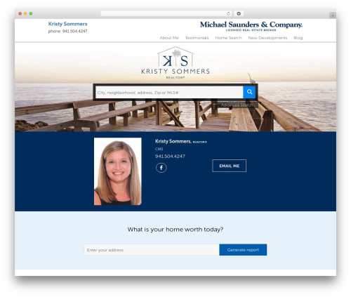 Residential - Theme 1 company WordPress theme - kristysommers.michaelsaunders.com