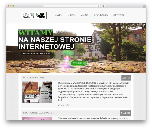 Theme WordPress Reverence - kzlebork.pl