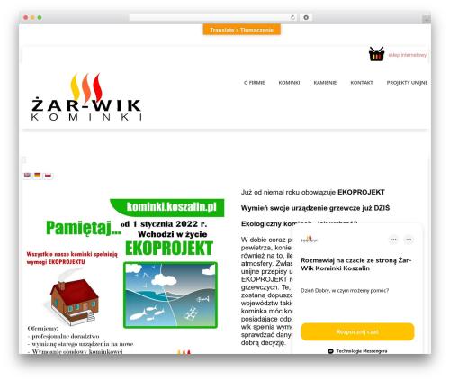 Free WordPress TablePress plugin - kominki.koszalin.pl