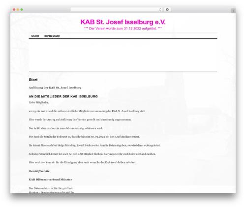 Coraline theme WordPress - kab-isselburg.de