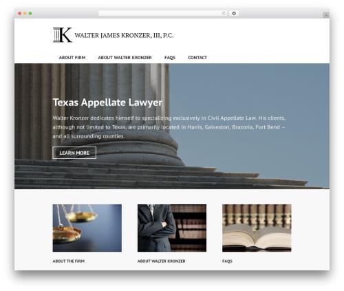 Edin template WordPress free - kronzer.com