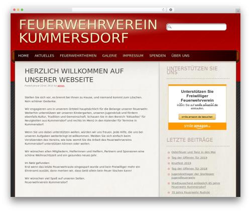 Frantic top WordPress theme - kummersdorf.net