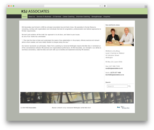 KSJ Style WP theme - ksjassociates.co.nz