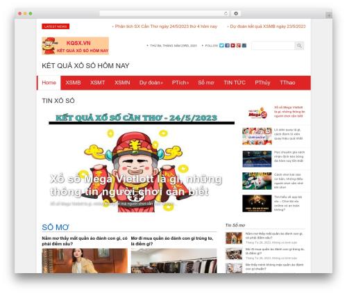 WordPress magazine3-widgets plugin - kqsx.vn