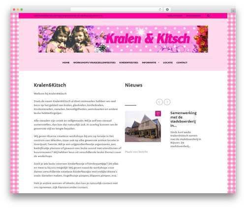 The Retailer WordPress theme - kralen-kitsch.nl