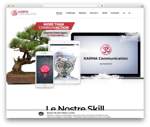 Alecta premium WordPress theme - karmacommunication.it