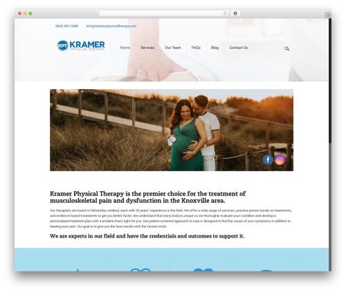 Betheme WordPress template - kramerphysicaltherapy.com