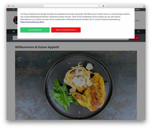 Cookbook WordPress theme - kuechenjunge.com