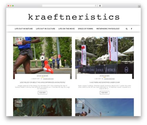 fmagazine template WordPress - kraeftneristics.com