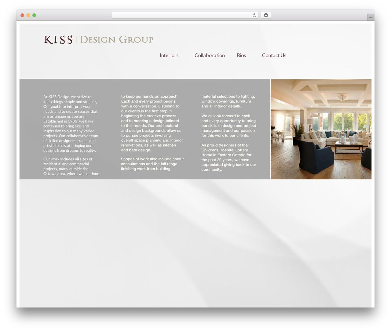 Template WordPress Agora - kissdesigngroup.com