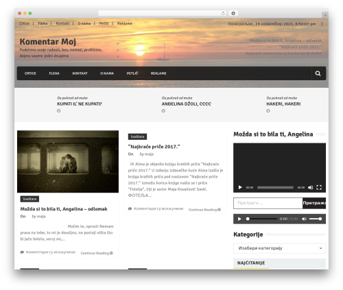 Theme WordPress Editorialmag - komentarmoj.com