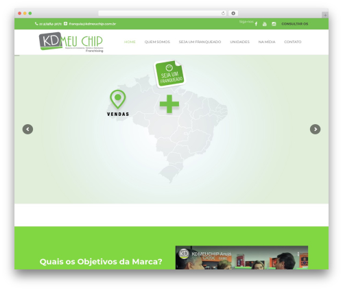 Tower top WordPress theme - kdmeuchip.com.br