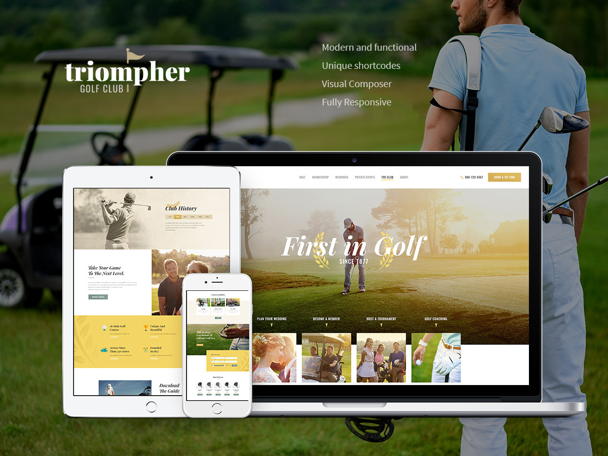 Triompher WordPress blog theme