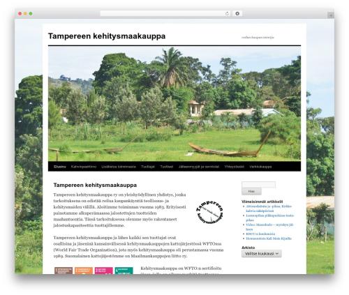 WP theme Twenty Ten - kehitysmaakauppa.org