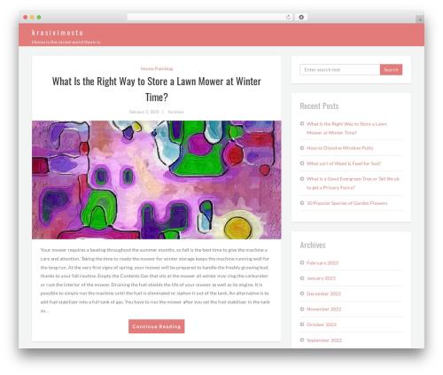 Brood best free WordPress theme - krasivimesta.com