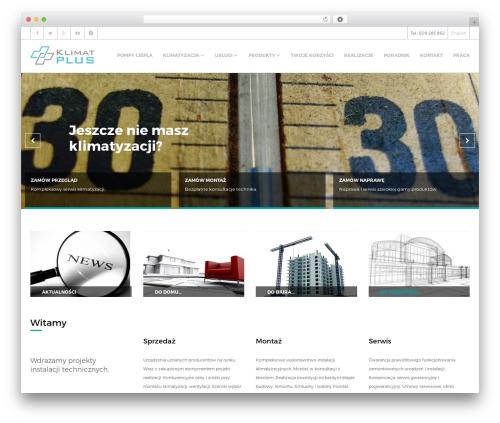 Free WordPress TablePress plugin - klimatplus.pl