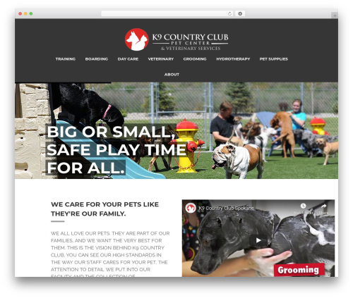 WordPress template Prototype - k9countryclubspokane.com