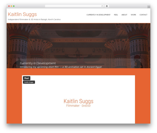 AccessPress Parallax template WordPress free - kaitlinsuggs.com