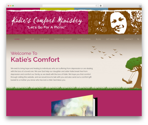 Jupiter theme WordPress - katiescomfort.org