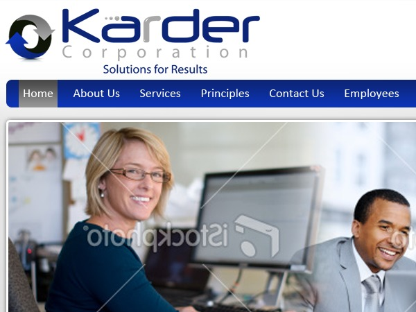 WordPress template Karder Corporation
