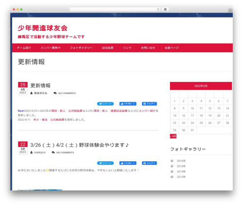 WordPress theme Health-Center-Lite - kaishinkyuyukai.com