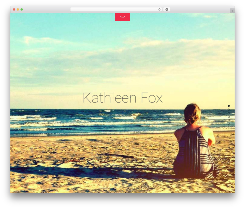 WordPress theme Themify Fullpane - kathleenfox.net