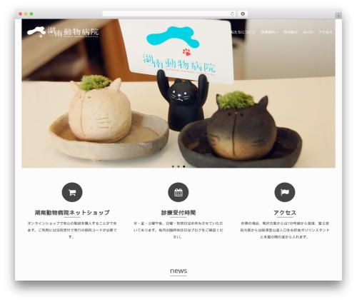 WordPress website template Pinnacle - konan-ah.com