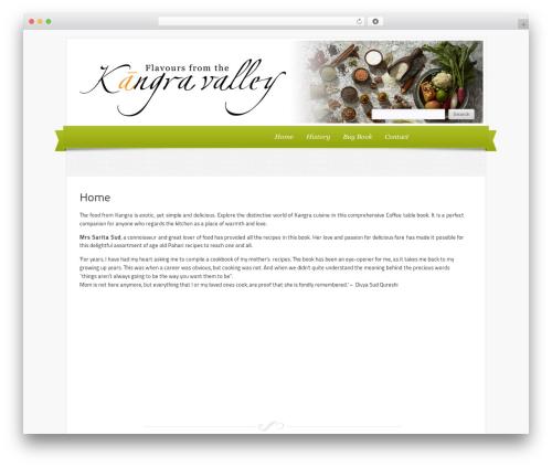 WP theme Delicacy - kangracuisine.com