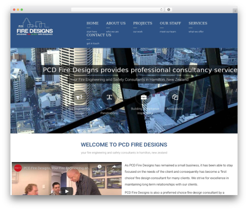 Arkitekt WordPress theme - firedesigns.co.nz