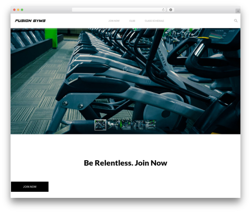Aslan best WordPress theme - fusiongyms.com