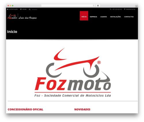 Automotive car rental WordPress theme - fozmoto.com