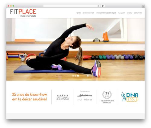 Cherry Framework WordPress theme - fitplace.com.br