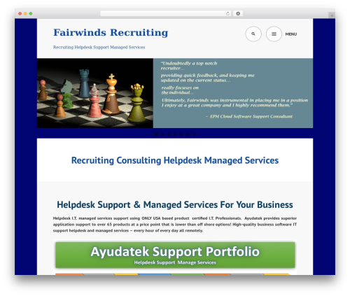 Edin WordPress theme download - fairwindsrecruiting.com
