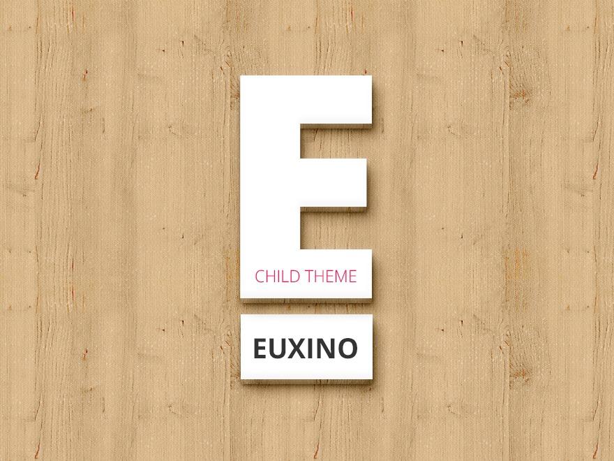 Euxino Child WordPress store theme